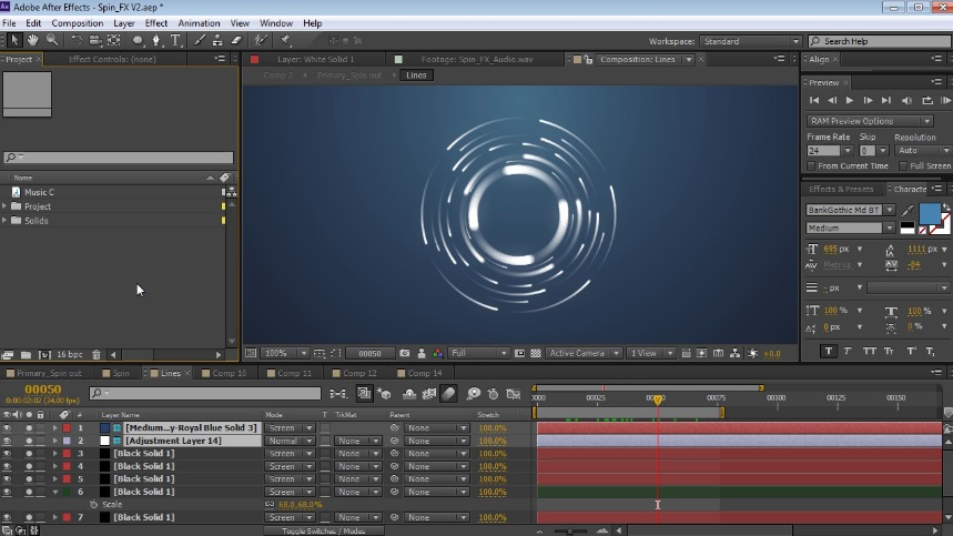 video effects tutorial