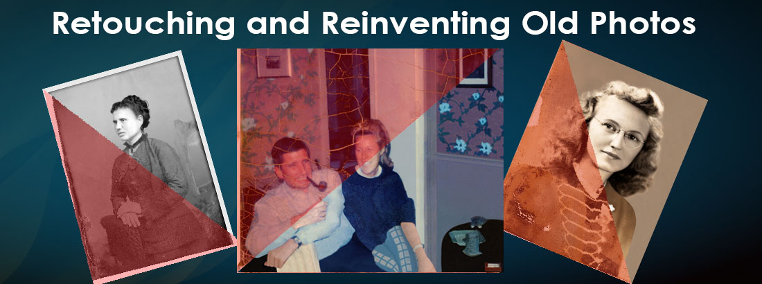 Retouching and Reinventing Old Photos Image