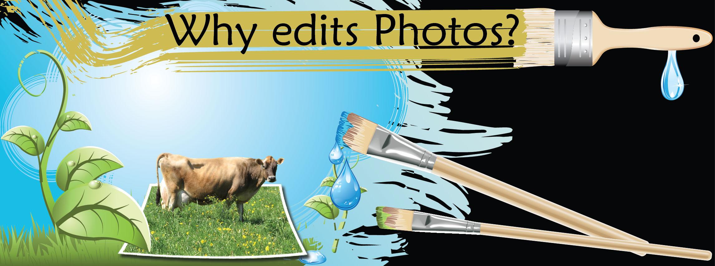Why edit photos