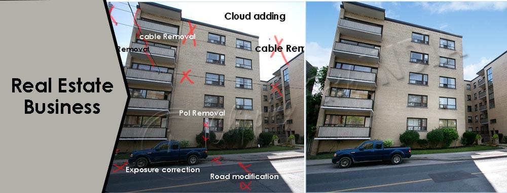 Real Estate Image Retouching