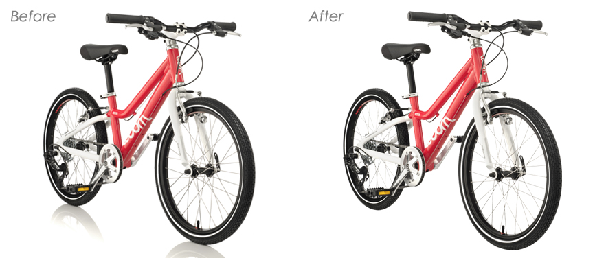 Compound Clipping Path Services for Basic Shaped Objects or Subjects