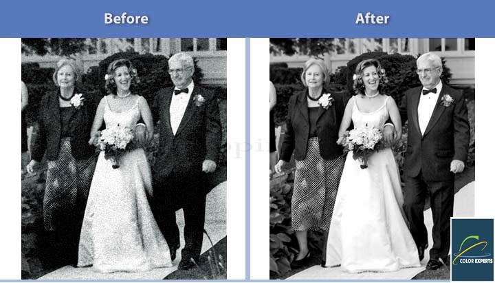 Retouching & Restoration Service