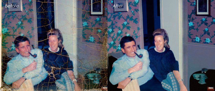 Old Photo Restoration | Clipping Path India