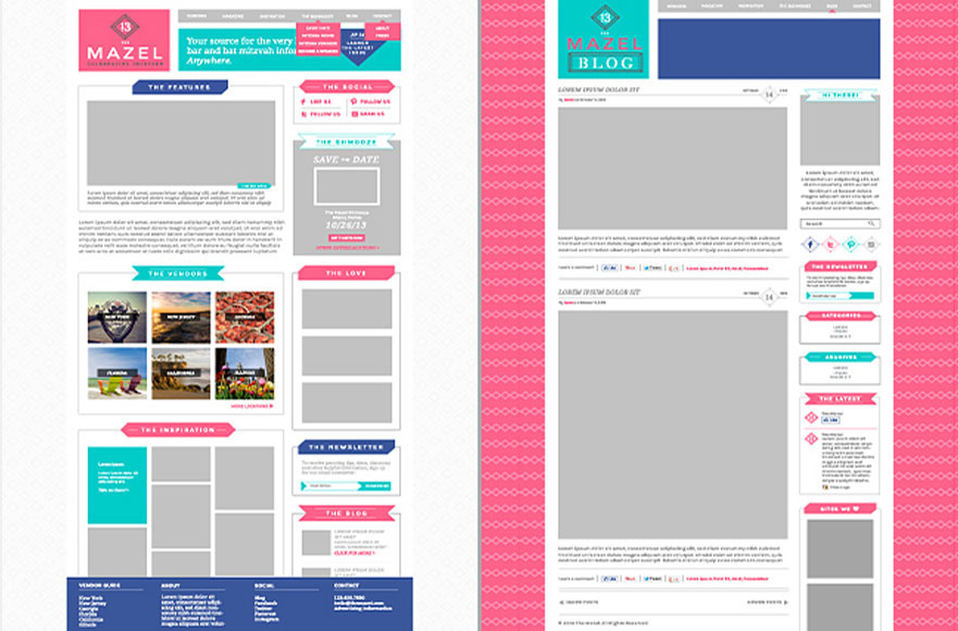 Photoshop Web Template
