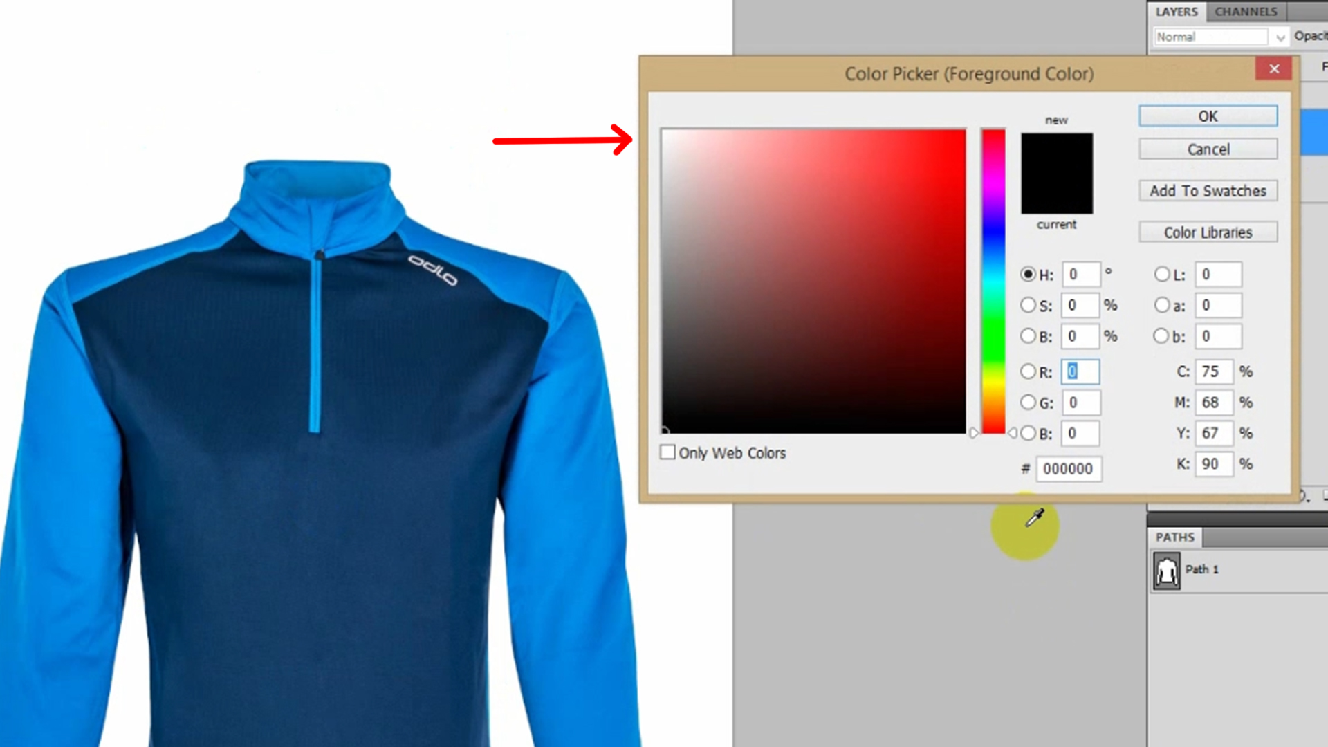 Check applying different color backgrounds, whether it is perfect or not