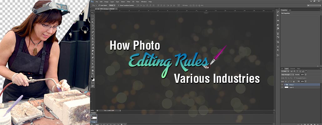 How Photo Editing Rules Various Industries