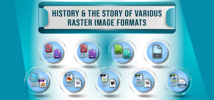 History & The Story of Various Raster Image Formats